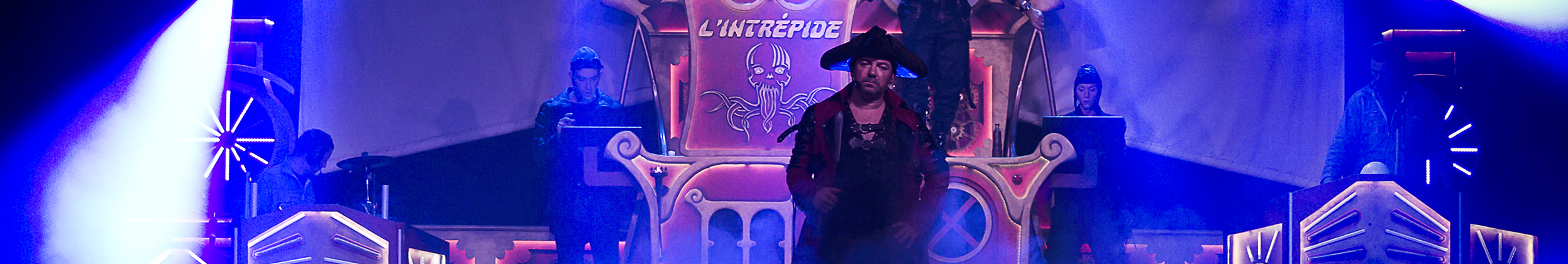 Spectacle familial de pirate, Les Piratonautes