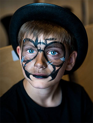 Maquillage enfant spectacle